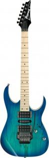 IBANEZ RG370AHMZ-BMT, RG-Serie E-Gitarre 6 String, Blue Moon Burst