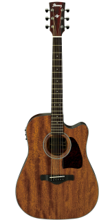 Ibanez AW54CE OPN, Dreadnought, Artwood, Westerngitarre, Open Pore Natural