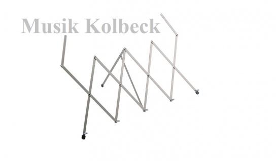 K & M 12400 Tischnotenpult, K & M 124 Scherenpult, 12400-000-11