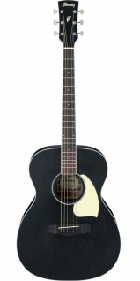 Ibanez PC14-WK, Westerngitarre, IBANEZ WEATHERED BLACK OPEN PORE, Dreadnought