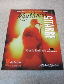 Rhythmus Gitarre 1, v. Michiel Merkies, Gitarrenschule, Akkorde, m CD