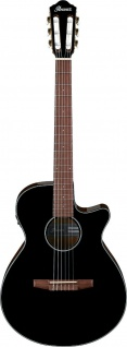IBANEZ AEG50N-BKH, Konzertgitarre 4/4, 6 String, Black High Gloss
