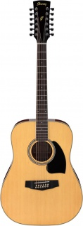 Ibanez PF1512-NT, Westerngitarre, 12 String, Dreadnought