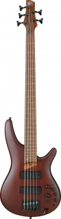 Ibanez SR505E-BM, SR-Serie E-Bass 5 String Brown Mahogany