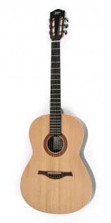 Höfner HA-CS28 Westerngitarre mit klassischer Konzertgitarre-Kopfplatte