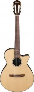Ibanez AEG50N-NT, Konzertgitarre mit Cutaway 6-Saiter High Gloss, 4/4