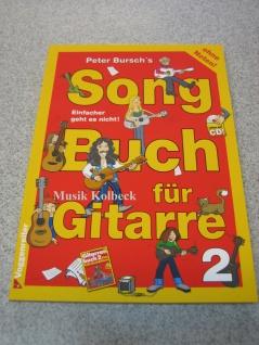 Songbuch für Gitarre 2 Peter Bursch, 99 Luftballons - Nena, 978-3-8024-0366-8