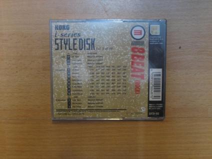 Korg i-series Styl Disk, i3, i2, 8Beat (Rock), IFD-03, gebraucht - Vorschau 2