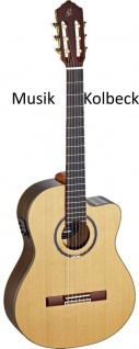 Ortega RCE159SN Konzertgitarre m. Gig Bag, 4/4, Akustische Gitarre