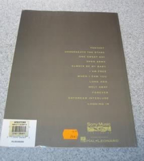 Mariah Carey, Daydream, Fantasy, Underneath the stars, Open arms, 0-7199-5807-6 - Vorschau 2
