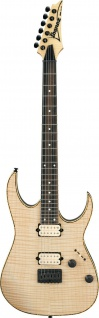 IBANEZ RGEW521FM-NTF Exotic Wood E-Guitar 6 String Natural Flat, RG-Series