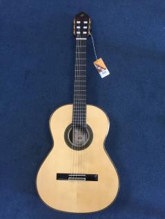 Ortega M20CS, 4/4, Konzertgitarre mit Luxuskoffer mit Hygrometer