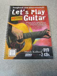Let's Play Guitar (m. DVD u. 2 CD´s), Gitarrenschule, 978-3-86626-158-7