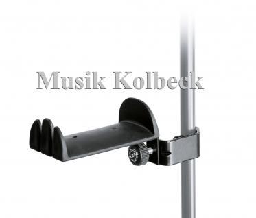 K & M 16080 Kopfhörerhalter - schwarz K & M 160/8