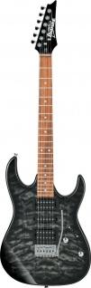 IBANEZ GRX70QA-TKS, GIO E-Gitarre 6 String Transparent Black Sunbirst