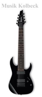 Ibanez RG8-BK, E-Gitarre 8-Saiter RG Serie BK - Schwarz