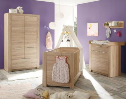 Babyzimmer Carlotta komplett 5-teilig Eiche sägerau