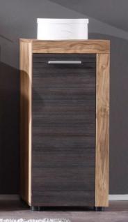 Kommode Badezimmer Unterschrank Cancun Nussbaum satin Touchwood ...