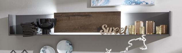 wandboard grau g nstig sicher kaufen bei yatego. Black Bedroom Furniture Sets. Home Design Ideas