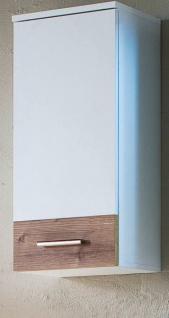 Bad Hängeschrank Summer weiß mit Bramberg Fichte 35 x 78 cm