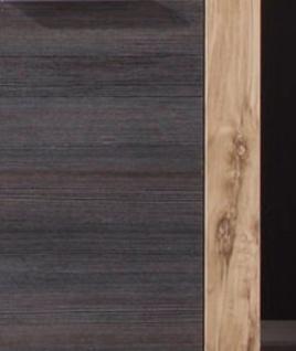 Badmöbel komplett Set Cancun Nussbaum satin Touchwood 5-teilig Breite 175 cm - Vorschau 3