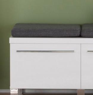 Sitzkissen Universal in grau 49 x 32 cm Sitzpolster für die Modelle Beach, Amanda, Baxter, Ole, Coast und andere