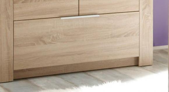 Kleiderschrank Babyzimmer Carlotta 3-türig Eiche sägerau - Vorschau 5