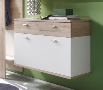 schuhschrank kommode h ngend flurgarderobe campus san remo. Black Bedroom Furniture Sets. Home Design Ideas