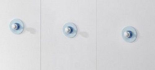 Babyzimmer Wickelkommode Olivia mit 2 Regalen weiß 96 x 102 x 76 cm - Vorschau 3