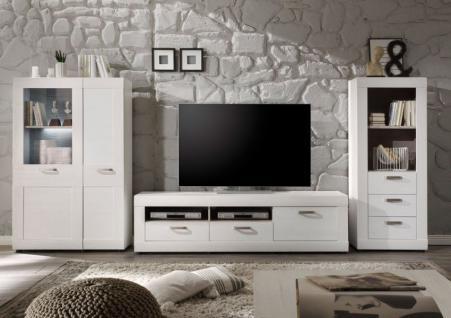 Wohnwand landhausstil online bestellen bei yatego for Wohnwand 150 cm