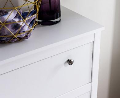 Kommode Ole in weiß Sideboard für Flur Esszimmer und Wohnzimmer Anrichte 183 x 98 cm - Vorschau 4