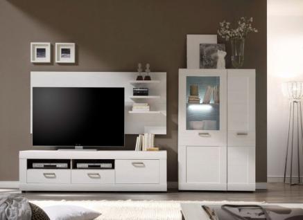 landhaus wohnwand weiß online bestellen bei Yatego