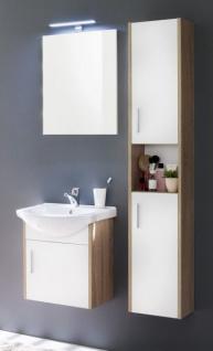 Badspiegel Jersey Eiche Sagerau Hell Und Spiegelglas Badezimmer