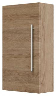 Badmöbel Hängeschrank Rima in Sonoma Eiche Badschrank hängend 35 x 62 cm Badezimmer
