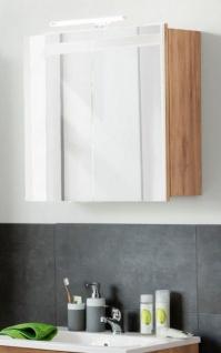 Spiegelschrank Badmobel Intenso Eiche Truffel Melamin 60x60 Cm