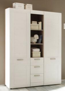 Babyzimmer komplett Set Landi Anderson Pinie weiß 6-teilig - Vorschau 4