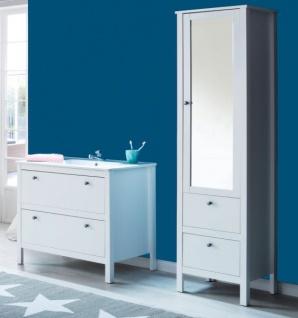 badezimmer hochschrank wei g nstig online kaufen yatego. Black Bedroom Furniture Sets. Home Design Ideas