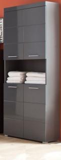 badezimmer hochschrank grau günstig online kaufen - Yatego