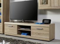 TV Hifi Unterteil Lowboard Fora Sonoma Eiche sägerau hell 160 x 45 cm