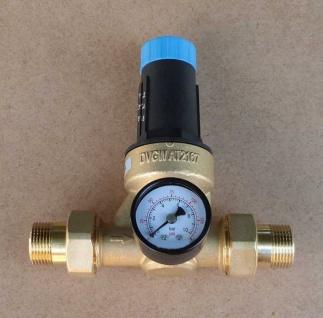 """Druckminderer Watts 3/4"""" mit Verschraubung+Manometer (1399#"""