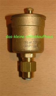 """SOLAR Schnellentlüfter Watts 3/8"""" AG mit Schnellschlußv. (775#"""