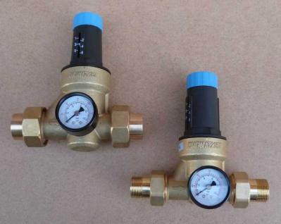 Druckminderer Watts mit Verschraubung + Manometer verschiedene Größen