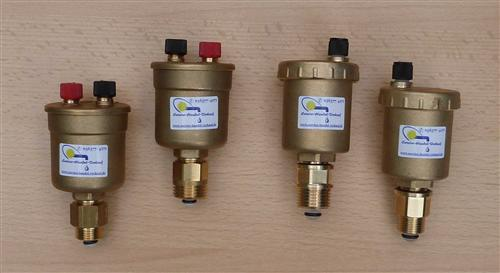 Automatische Schnellentlüfter / Doppelentlüfter Watts incl. Absperrventil