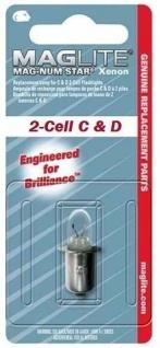Mag Lite® 1 Stück Ersatzlampe für 2-CELL C & D XENON Taschenlampen (Auswahlmöglichkeiten)