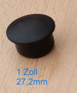 Rohrabdeckkappe für 1 Zoll Rohr Innendurchmesser 27, 2mm (Auswahlmöglichkeiten)