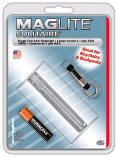 Mag Lite® Mini Solitaire titan 80mm, 2 lm, inkl. 1x AAA-Batterie (Auswahlmöglichkeiten)