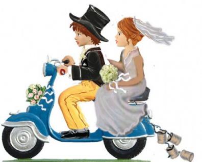 Just married zum Stellen