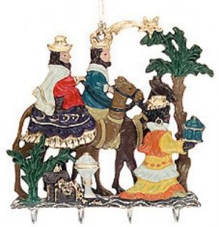 3D Heilige Drei Könige mit Geschenken
