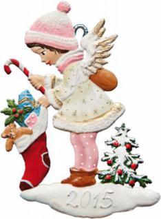Engel mit Weihnachtsstrumpf 2015
