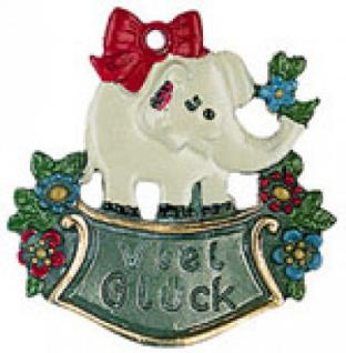 "Elefant "" Viel Glück"""